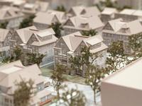 model of charlesview redevelopment