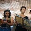 Reading in Caluco