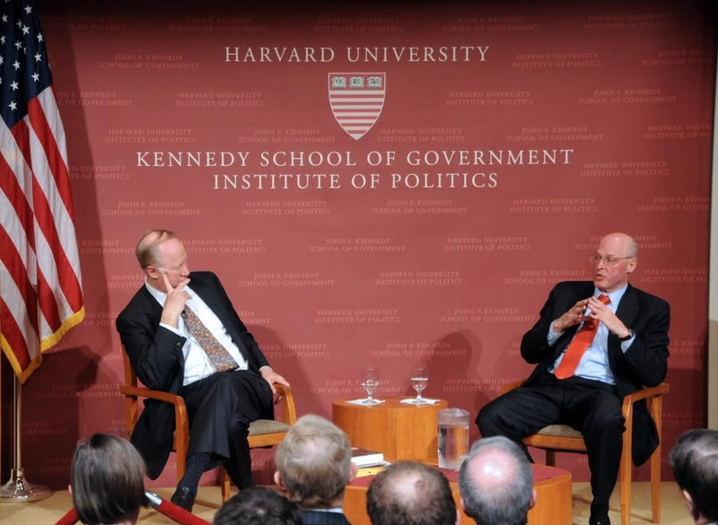 Henry Paulson speaks JFK Forum.