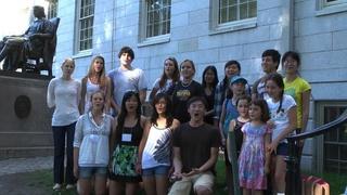 Harvard Yard Tries To Sing the National Anthem