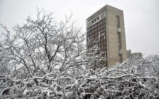 Blizzard in Cambridge