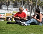 Musicians at Venice Beach