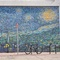 Starry Night Wall Painting