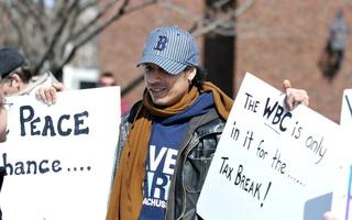 WBC Protests Gomes