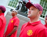 Manchester United Visits Harvard
