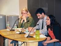 Speaker panel at Interfaith Conversations