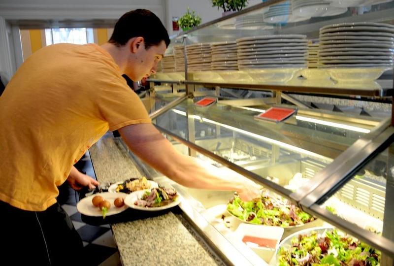 Dining Hall Food Line