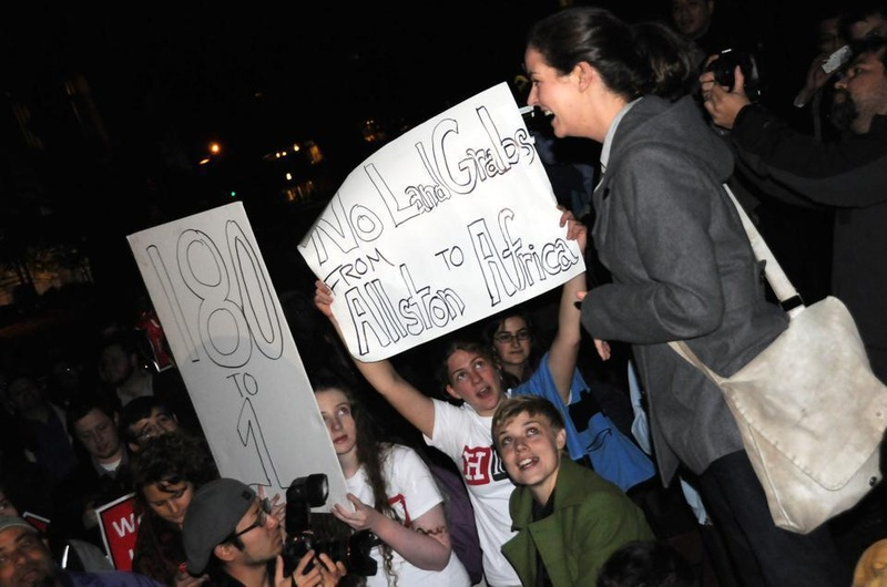 Occupy Harvard's General Assembly