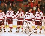 Men's Hockey team revels in victory