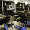 Occupy Harvard Lamont Café