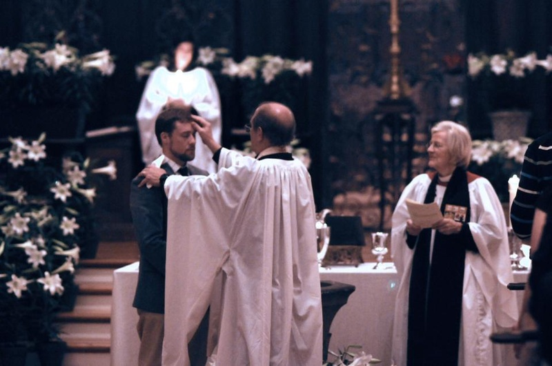 Adult Baptism at the Great Vigil of Easter