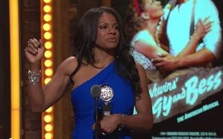 Audra McDonald Accepts Tony Award