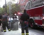 A smoking barrel on JFK St.