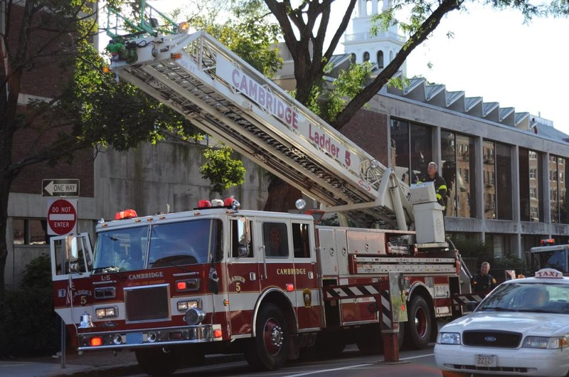Ladder Over De Wolfe Street
