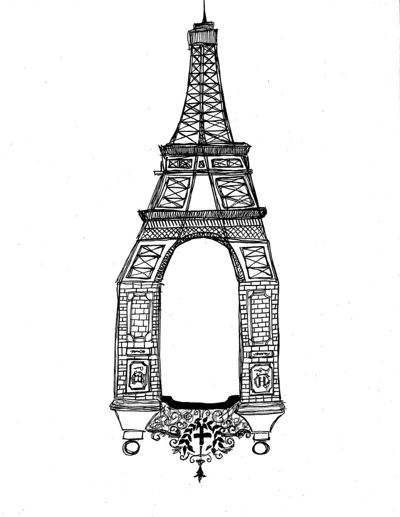 Parisian Coordinates: Sketches from a Semester Abroad