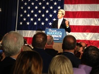 John Kerry at Warren Election Party