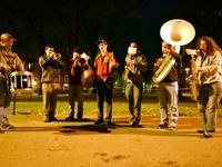 Harvard Band Celebrates Obama's Win