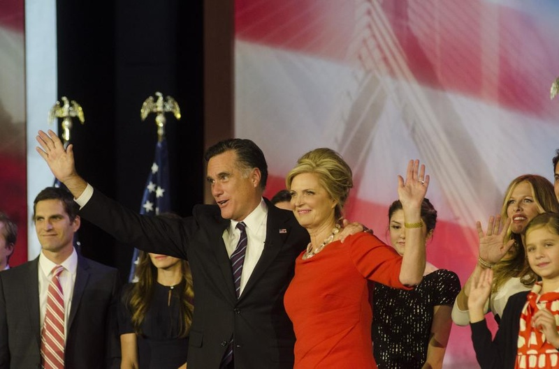 Mitt Romney's Election Party