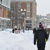Harvard Square Snowed Out