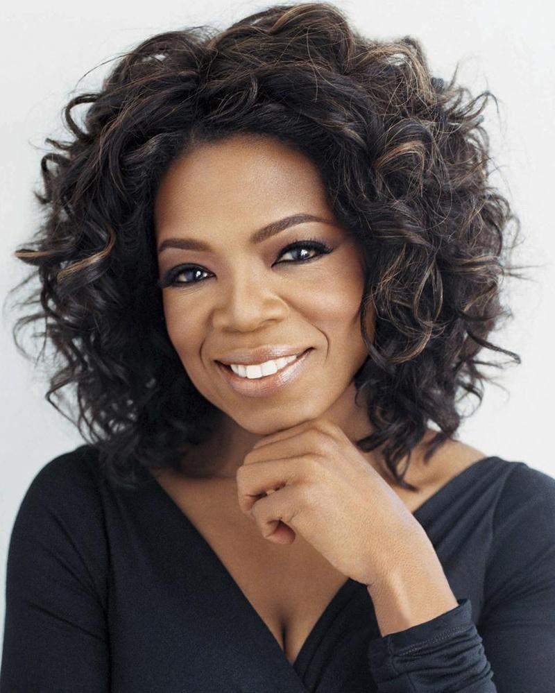 It's Oprah