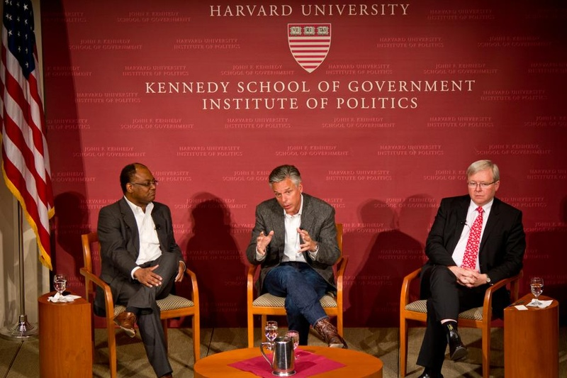 China Rising: Jon Huntsman and Kevin Rudd Speaks at IOP