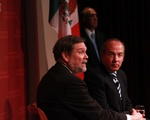 President Calderon at the JFK Forum