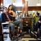 Eriko, Eli , and Saad at the Barber Shop