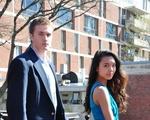 Patrick Steeves and Sarah Jackson