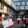 Protest Outside Holyoke