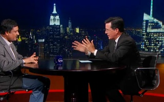 Sparring with Colbert
