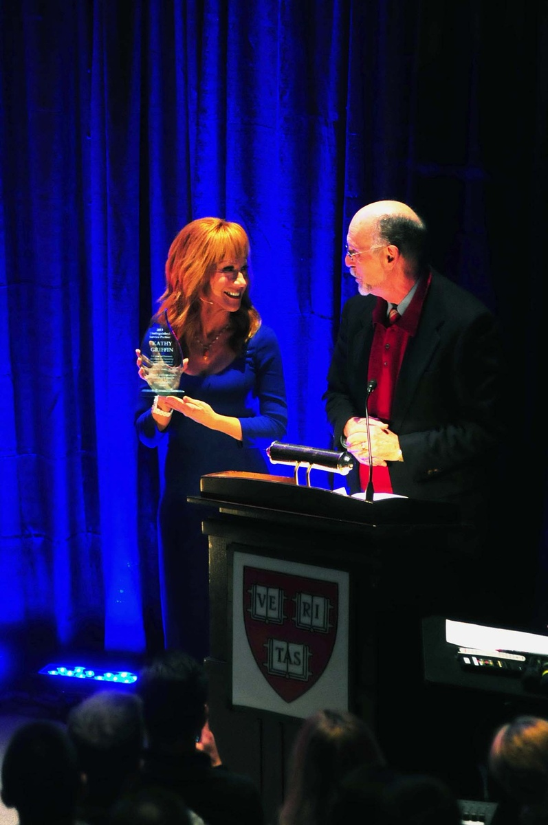 Kathy Griffin and Harvard Undergraduates Honoring Veterans