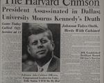 Saturday, November 23, 1963, Front Page