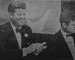 JFK at the Commonwealth Armory