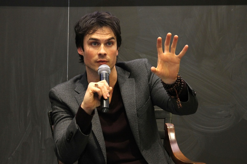 Girls Impacting Ian Somerhalder