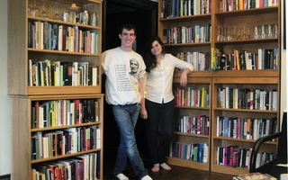 Wilson and Coughlon with their books
