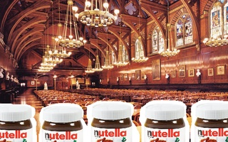 Nutella in Dhall