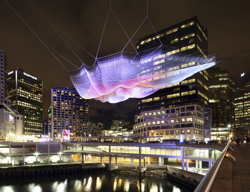 Janet Echelman String Sculpture