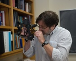 John Huth Demonstrates Sextant