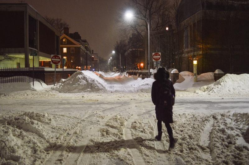 Snow on Plympton