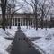 Snow covered Harvard