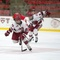 February 3, 2015 - Harvard 9, Boston University 2: Junior Forward Miye D'Oench had two assists and a plus-3 rating in the runaway win.
