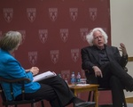 Faust and Wieseltier Discussion at Law School