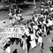 Apartheid Divestment Protest