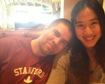 Snow Xue Rui '15 and Timothy F. Bender