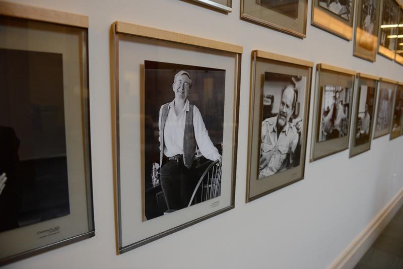 Janet Halley Portrait in Wasserstein Hall