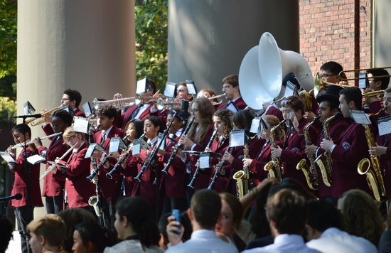 The Band at Convocation