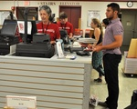 Students Buy Coursebooks at the Coop