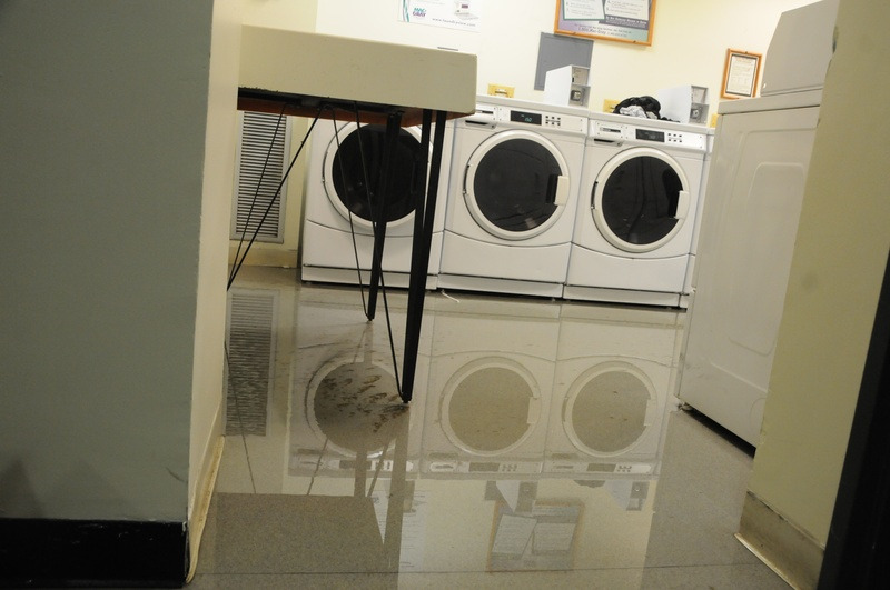 Flooding in Laundry Room