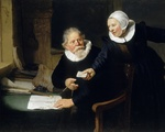 "Rembrandt's ""The Shipbuilder and his Wife"""