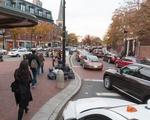 Traffic in Harvard Square